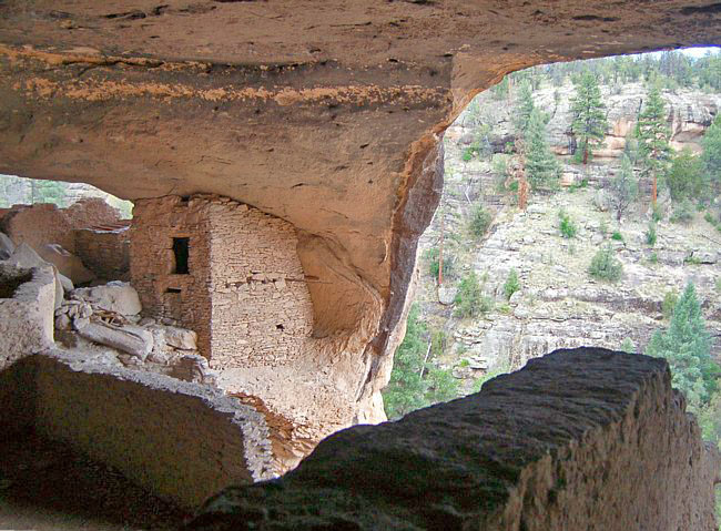 Gila Cliff Dwellings - Silver City, New Mexico