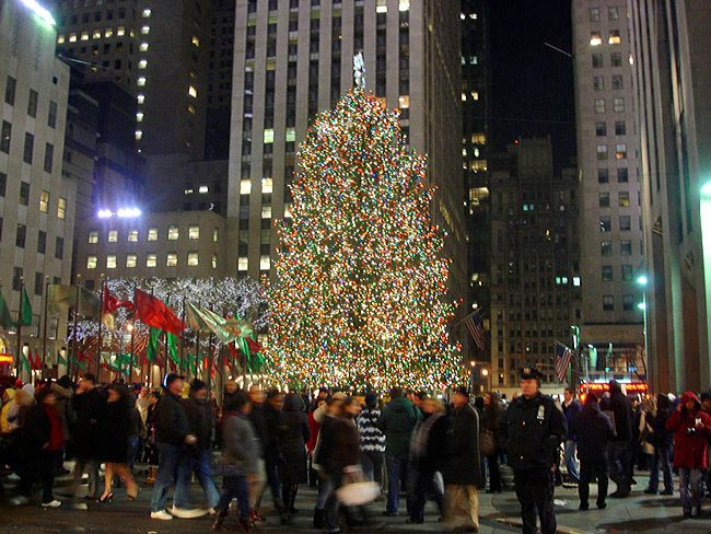 Rockefeller Center Christmas tree - New York City, New York