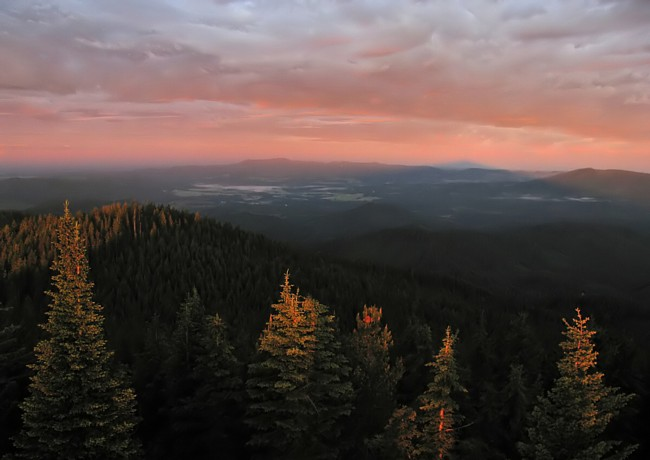Bald Mountain Lookout - St. Joe National Forest, Idaho