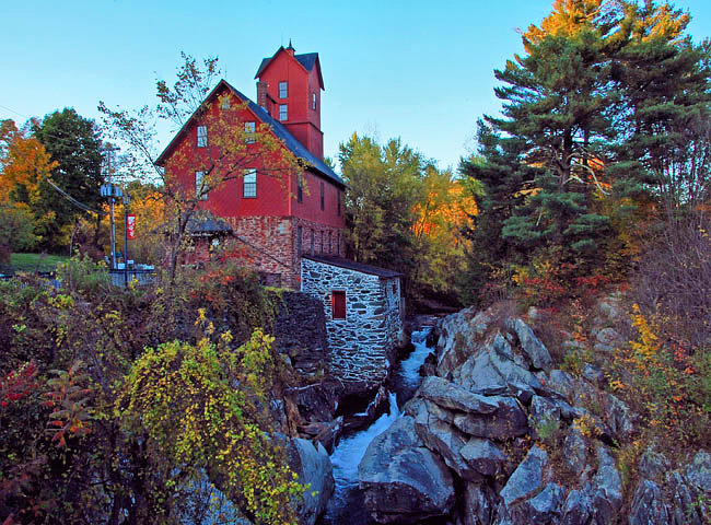 Old Red Mill (Chittenden Mill #2) - Jericho Corners Village, Vermont