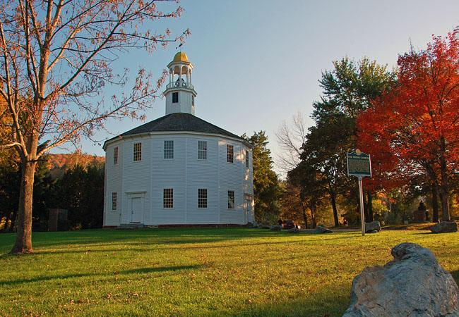 Old Round Church Vermont