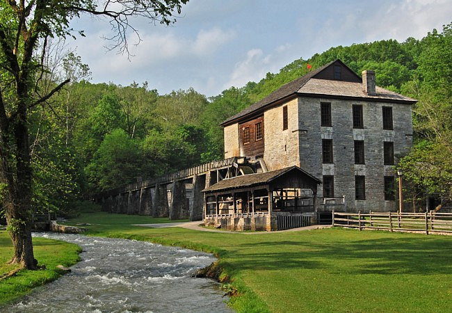 Indiana Spring Mill State Park My Family Were Among The