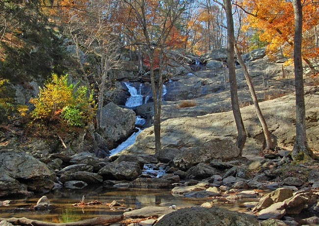 Cunningham Falls (McAfee Falls) - Catoctin Mountain National Scenic Byway, Maryland