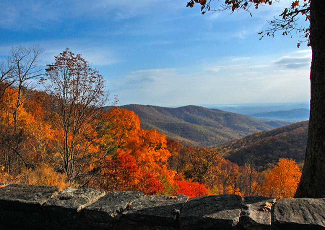 Thornton Gap - Skyline Drive, Tunnel Viewpoint, Virginia
