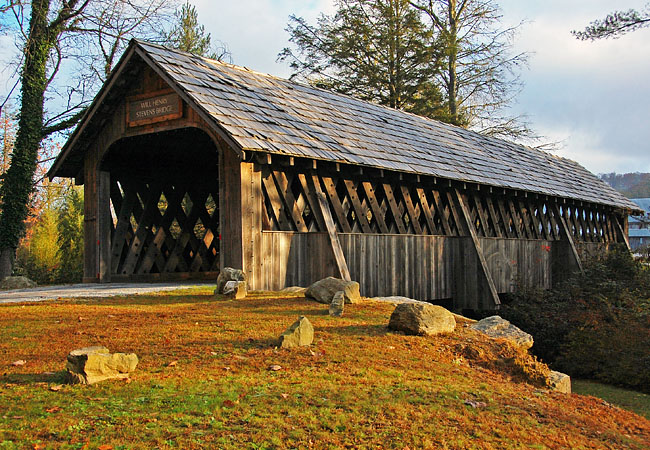 Will Henry Stevens Covered Bridge - The Bascom Center for the Visual Arts, North Carolina
