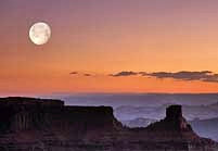 Moonrise - Dead Horse Point, Moab, Utah
