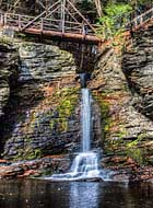 Deer Leap Falls - Childs Park, Delaware Water Gap National Recreation Area, Dingmans Ferry, PA