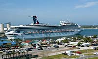 Departing Cruise Ship - Port Canaveral, Florida