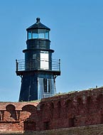 Dry Tortugas Lighthouse - Fort Jefferson, Dry Tortugas National Park, Florida