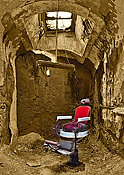 Al Capone's Barber Chair - Eastern State Penitentiary