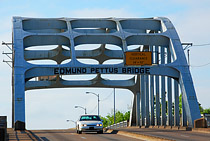 Edmund Pettus Bridge traditional view