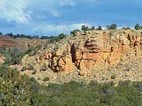 Sandstone Bluffs - El Malpais National Monument, Grants, New Mexico