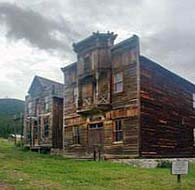 Fraternity Hall and Gillian Hall - Elkhorn State Park, MT