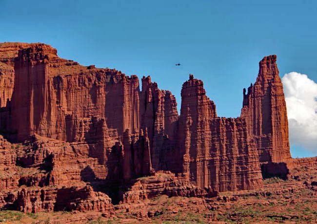 Fisher Towers - Fisher Towers Recreation Site, Moab, Utah