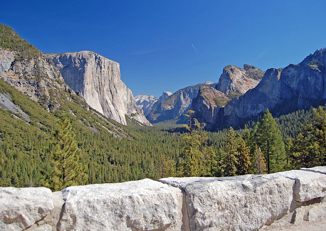 Tunnel View Of Yosemite Valley California