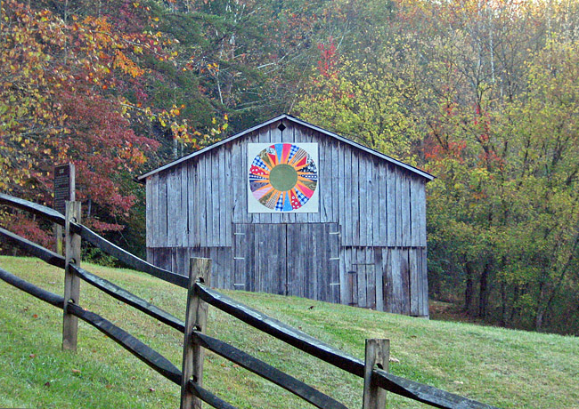 Gladie Farm Scene - Kentucky Quilt Trails