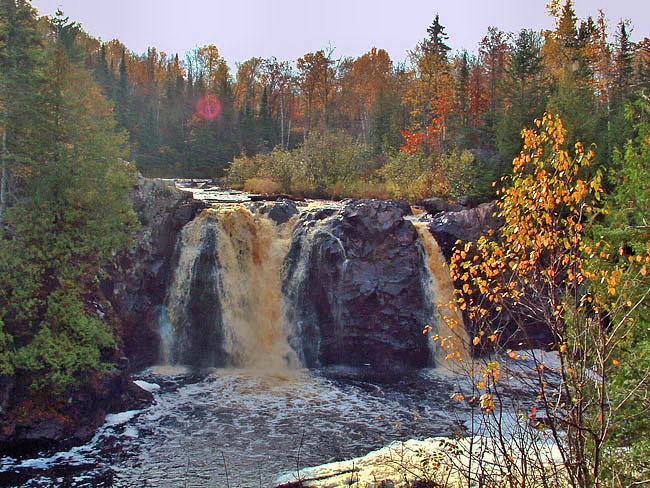 Little Manitou Falls - Pattison State Park, Wisconsin