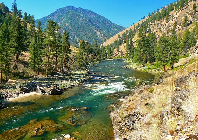 Middle Fork of the Salmon River - Stanley, Idaho