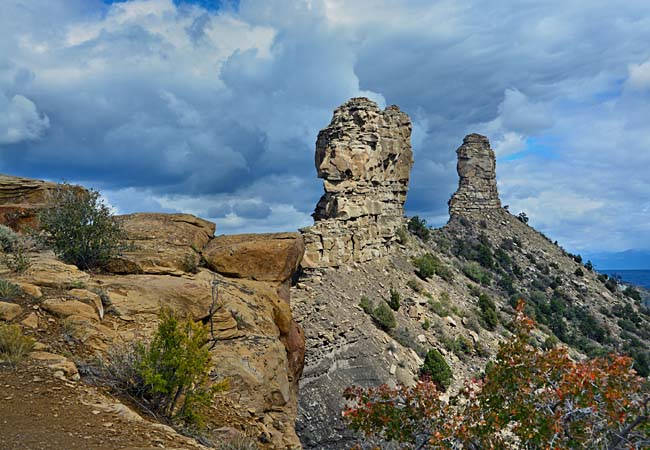 Chimney Rock National Monument - San Juan National Forest, Colorado
