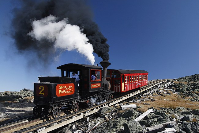 Cog Railway - Bretton Woods, New Hampshire