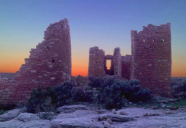 Hovenweep Castle - Hovenweep National Monument, Utah