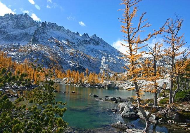 Cold Lake Dodge >> Enchantment Lakes Basin - Washington