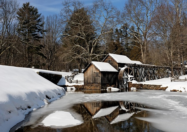 Mabry Mill - Blue Ridge Parkway, Meadows of Dan, Virginia