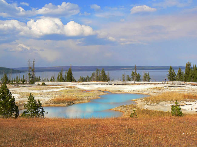 West Thumb Geyser Basin - Yellowstone National Park, Wyoming