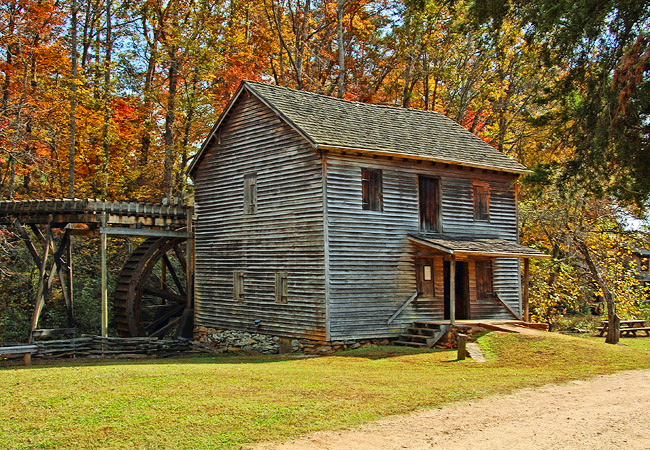 Hagood Mill Historic Site -  Pickens County, South Carolina
