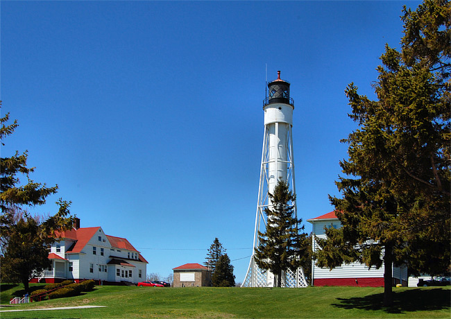 Sturgeon Bay Canal Lighthouse - Marinette County Park, Wisconsin