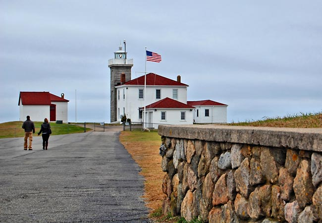 Watch Hill Lighthouse and Station - Westerly, Rhode Island