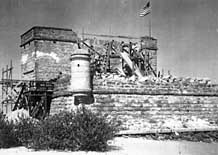 Reconstruction Period - Fort Matanzas, St Augustine, Florida