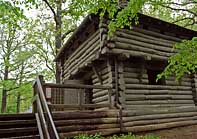 Replica Fort - Mathiessen State Park