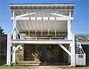 Reconstructed Gallows - Fort Smith National Historic Site, AR
