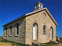 Lower Fox Creek Schoolhouse - Tallgrass Prairie National Preserve