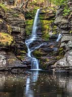 Fulmer Falls - Childs Park, Delaware Water Gap National Recreation Area, Dingmans Ferry, PA