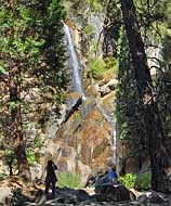 Gizzly Falls - Fresno County, California