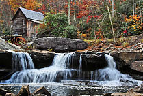Glade Creek and Mill - Babcock State Park, West Virginia