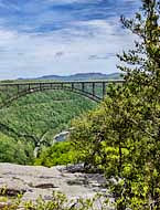 New River Gorge Bridge at Long Point - New River Gorge, WV