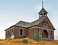 Govan Schoolhouse - Wilbur, Washington