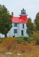 Grand Traverse Lighthouse - Leelanau Peninsula, Michigan