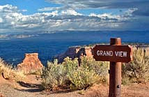 Grand View Overlook - Colorado National Monument, Grand Junction, Colorado