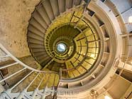 Spiral Staircase - Grays Harbor Lighthouse, Westport, Washington