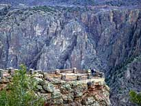 Gunnison Point - Black Canyon of the Gunnison National Park, Colorado