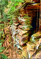 Rock House - Hocking Hills State Park, Ohio