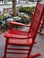 Harbour Town Rocking Chair - Hilton Head Island, South Carolina