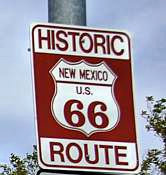 Historic Route 66 Sign - New Mexico