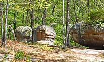 Rock Formations - Horse Pens 40, Steele, Alabama