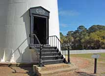 Hunting Island Lighthouse entrance - Hunting Island State Park, SC