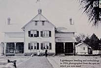 Hunting Island Lighthouse Keepers Quarters 1924 photo - Hunting Island State Park, SC